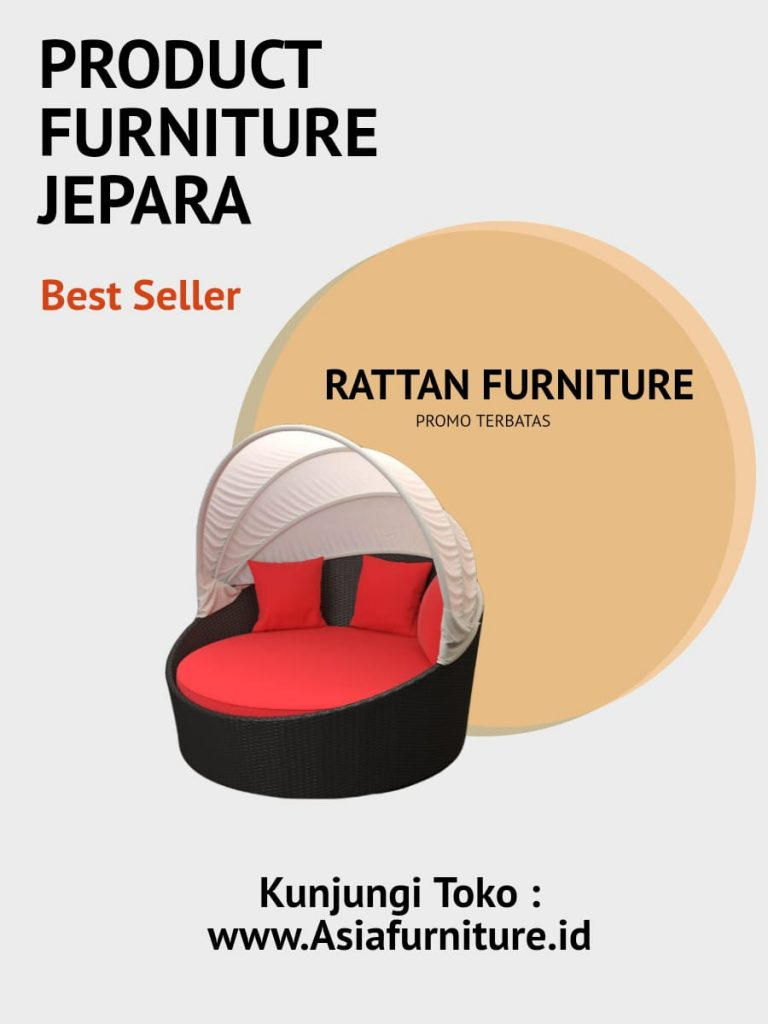 Daybed Rattan Asia Furniture